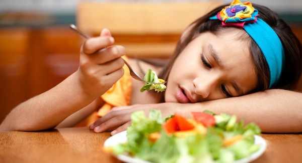 Потеря аппетита при манту