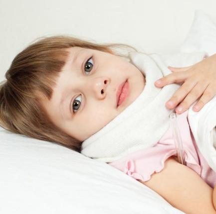 компресс на горле у ребенка