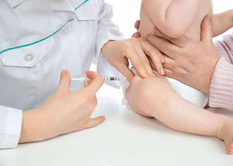 Вакцинация ребенка от коклюша