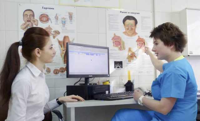 фарингит у врача